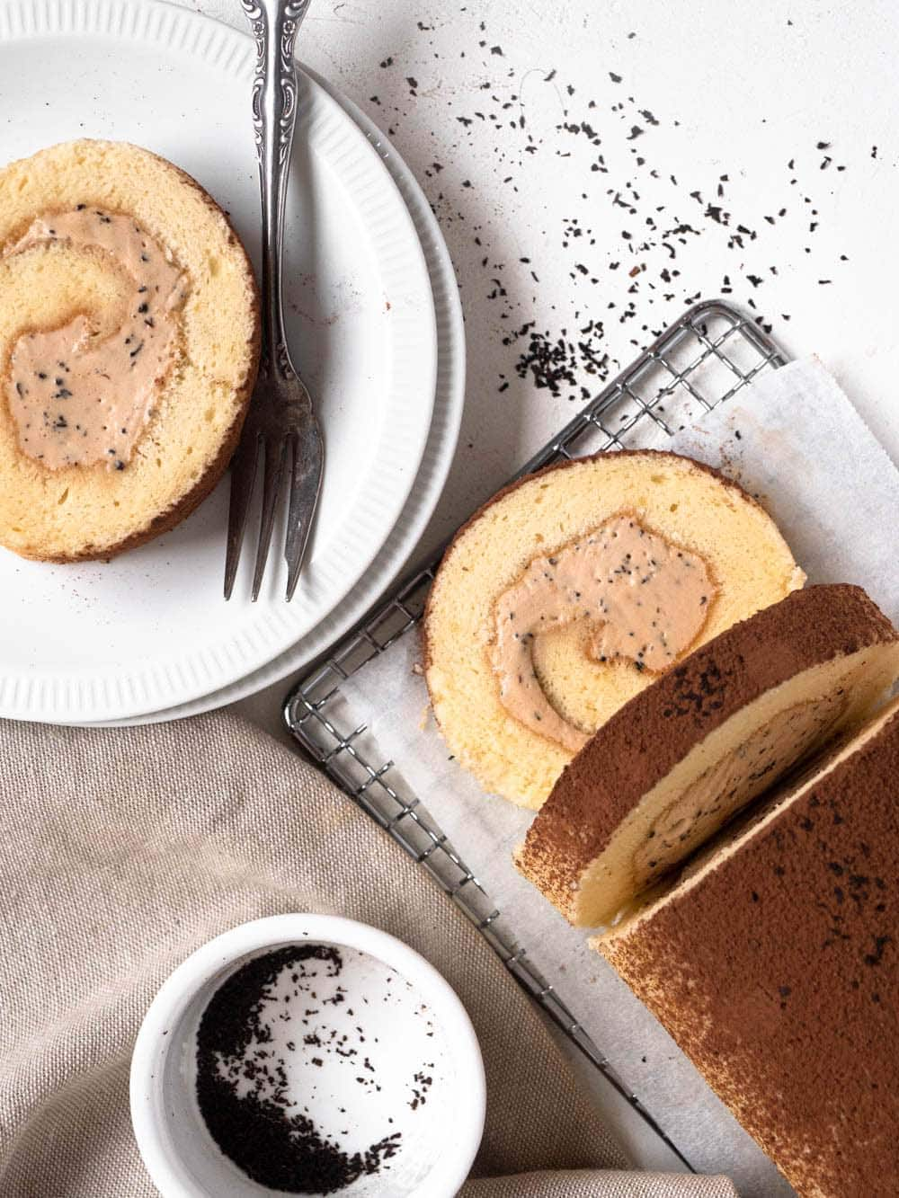 The PERFECT Swiss Roll Cake