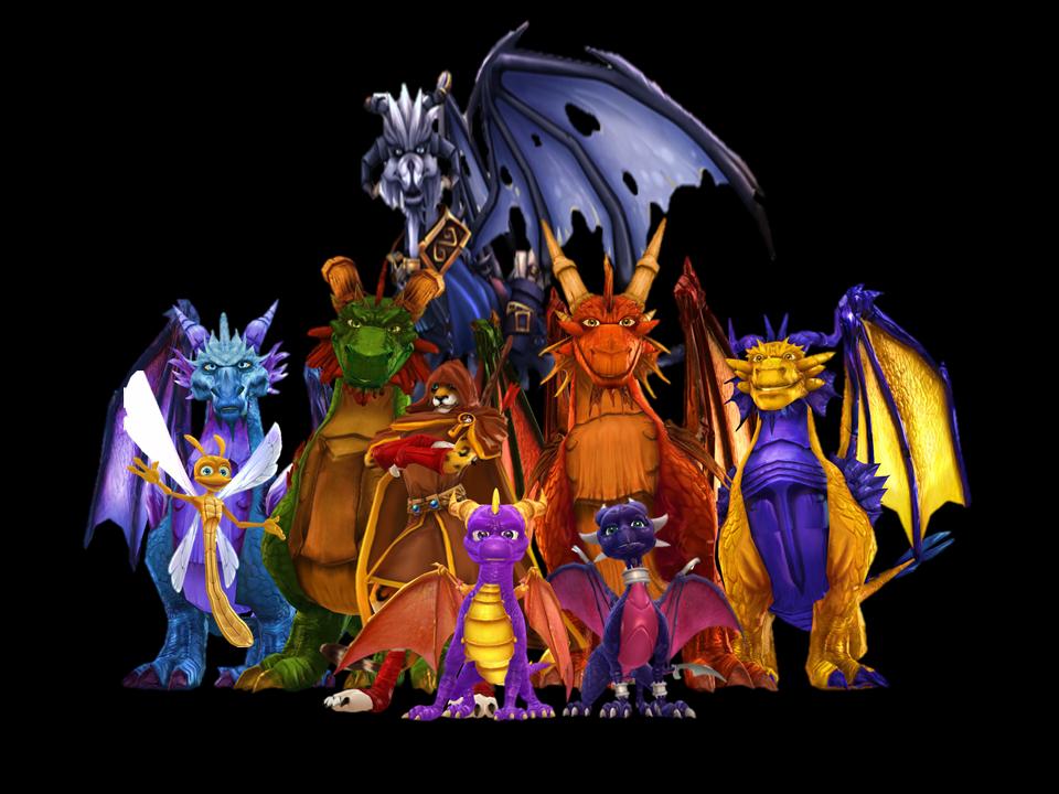 Sonic Fall November Wallpaper Spyro Dawn Of The Dragon Zhasnie2015