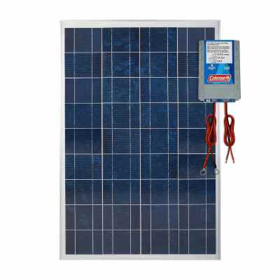 Coleman 100W Solar Panel with 8.5 Amp Charge ControllerColeman 100W Solar Panel with 8.5 Amp Charge Controller
