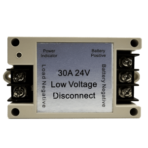 low voltage disconnect