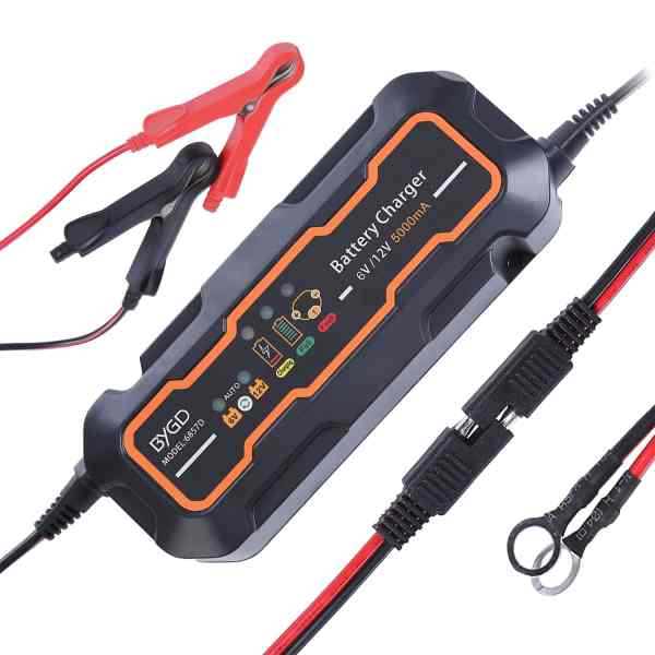 6 12 volt battery charger