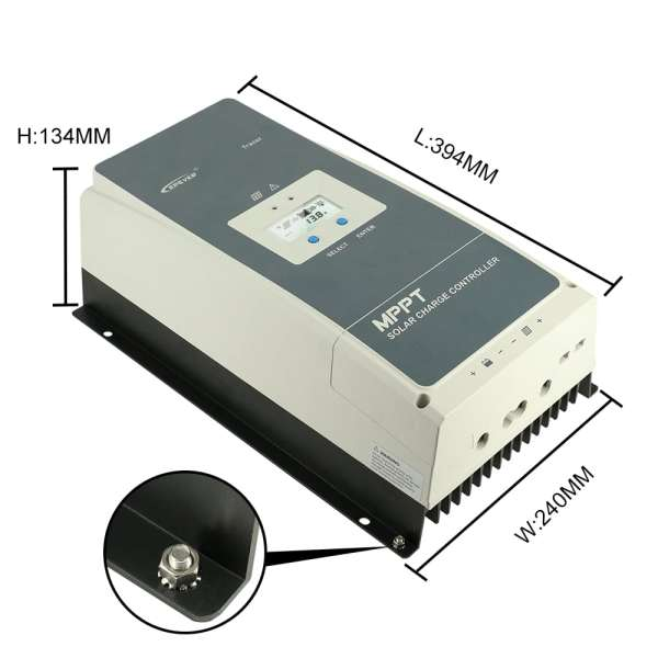 Epever 100A mppt solar charge controller