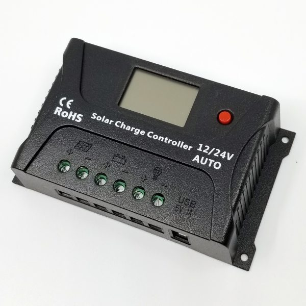 20A Solar Charge Controller with LCD Display 5
