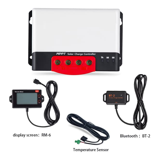 RV MPPT Solar Charge Kit Accessories