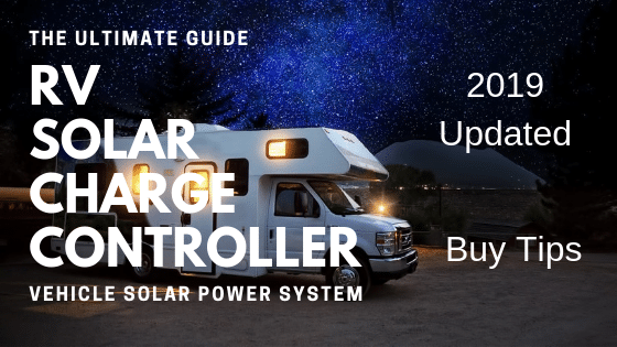 rv solar charge controller guide