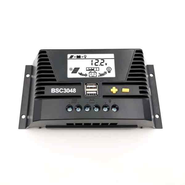 30a solar charge controller 48v