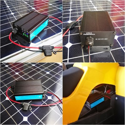 MPPT Boost Solar Charge Controller Working Diagram