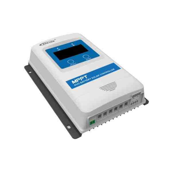 EPever MPPT Dual Battery Solar Charge Controller DuoRacer 3