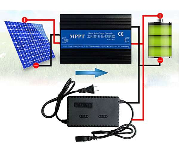 boost charge controller mppt