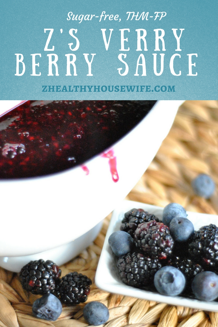 Z's very berry sauce
