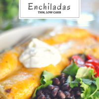 Z's Easy Chicken Enchiladas