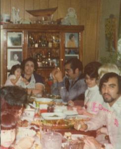 family at grandmas