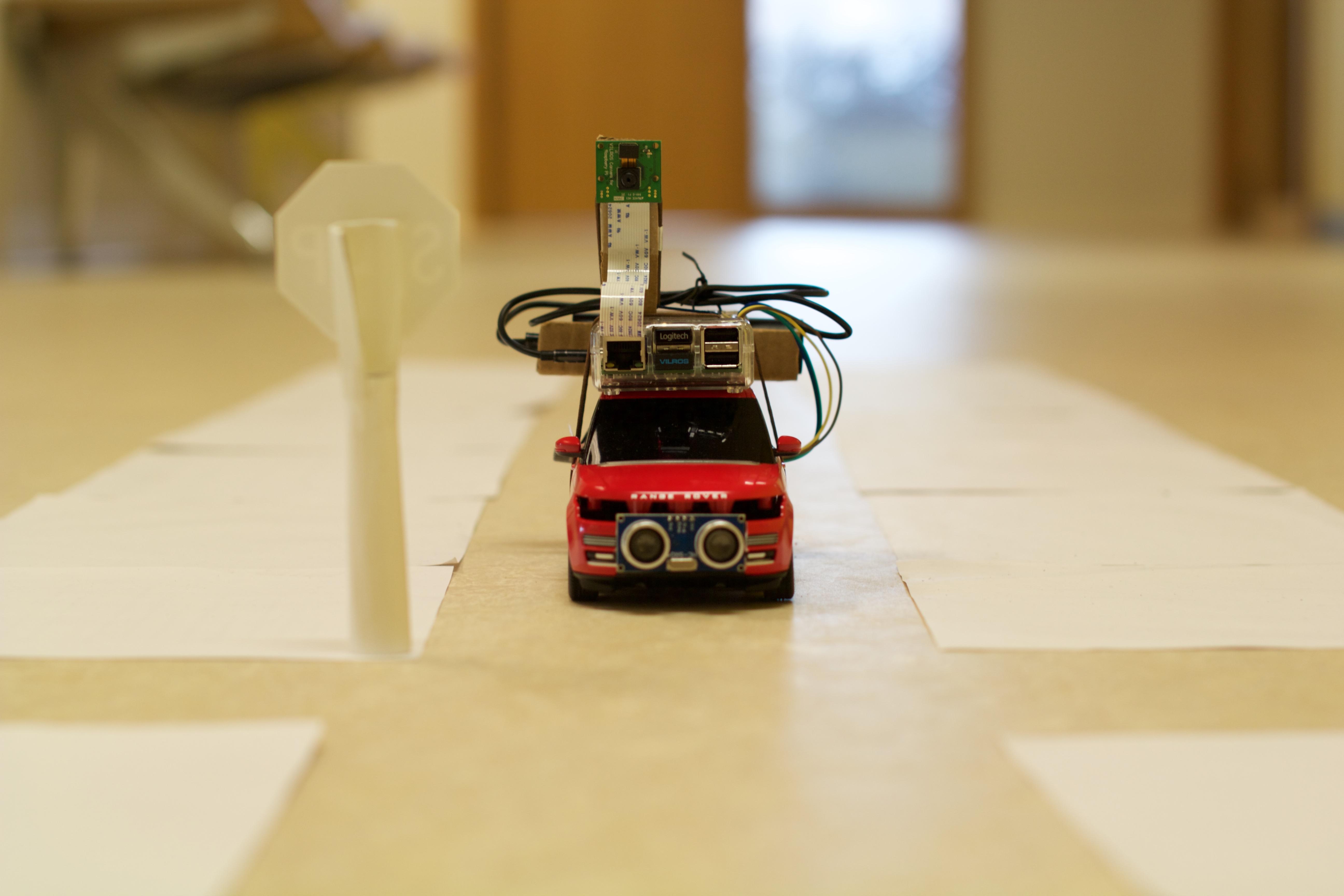 Self driving rc car zheng wang