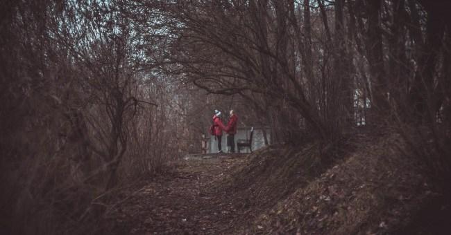 гелиос 44-м4 гомель парк осень пара природа парень девушка