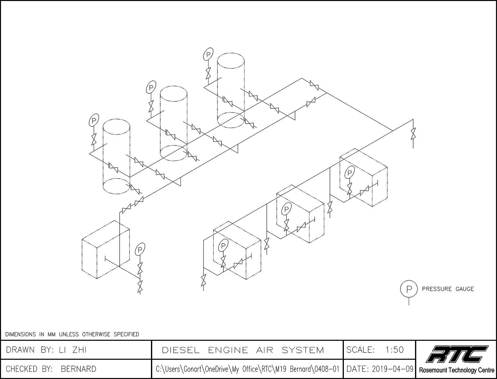 M19 – Hydraulic Diagrams