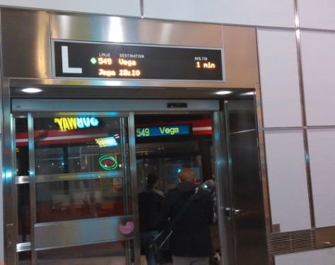 Bus 549 to Vega