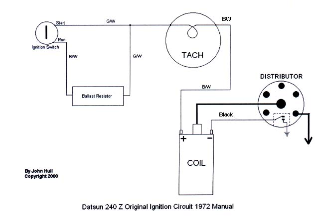 280zx Alternator Wiring Diagram Tach Bounces While Shifting Electrical The Classic