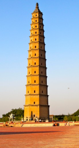Wenfeng Tower (文峰塔), tallest brick pagoda in Shanxi Province
