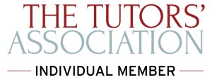 banner showing that I am an individual member of the tutors' assocation