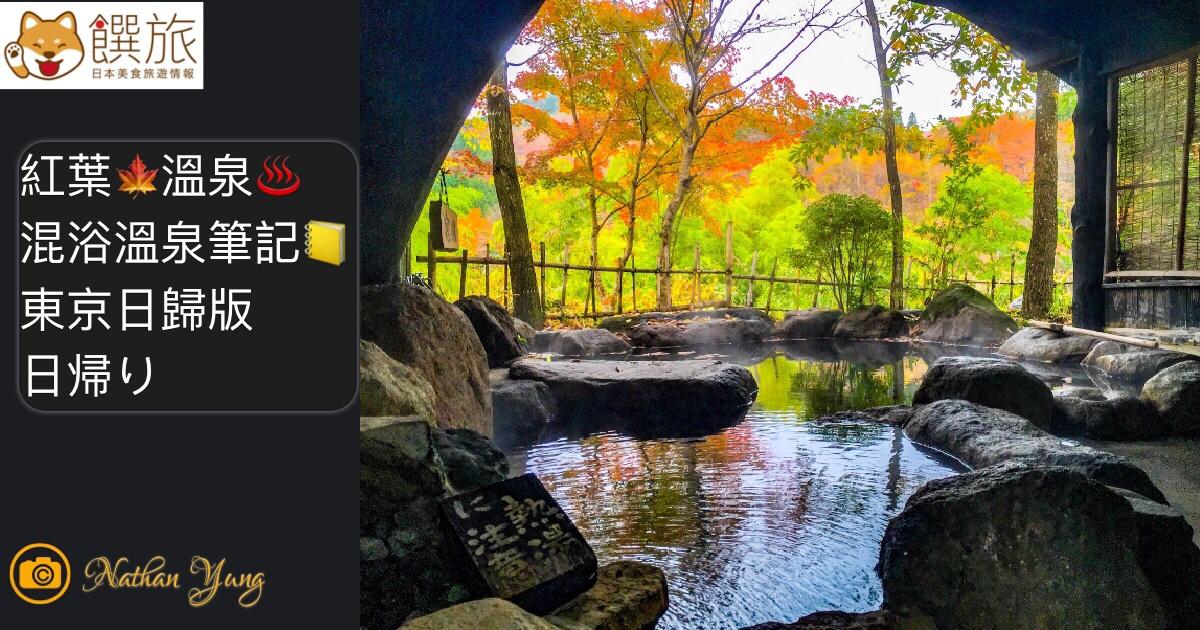 紅葉混浴溫泉筆記 東京日歸版 紅葉🍁溫泉♨️混浴溫泉筆記📒 日帰り