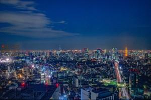 注意-東京 涉谷 2019最新景點 地標 SHIBUYA SKY   360度環繞展望台 -絕對注意事項-攝影必看 渋谷スクランブルスクエア Shibuya Scramble Square 遠眺富士山 夕陽美景