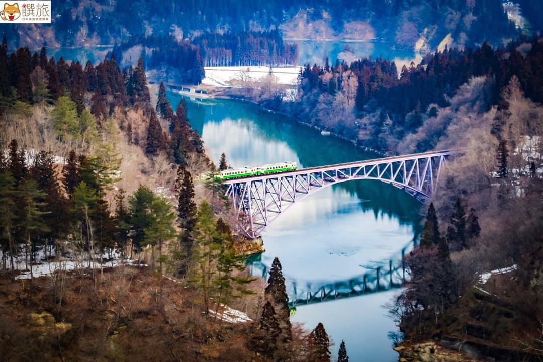娜柴不藏私 一次破解 只見線 神秘拍攝點 全都露-福島美景 只見川 電車 只見川第一橋樑
