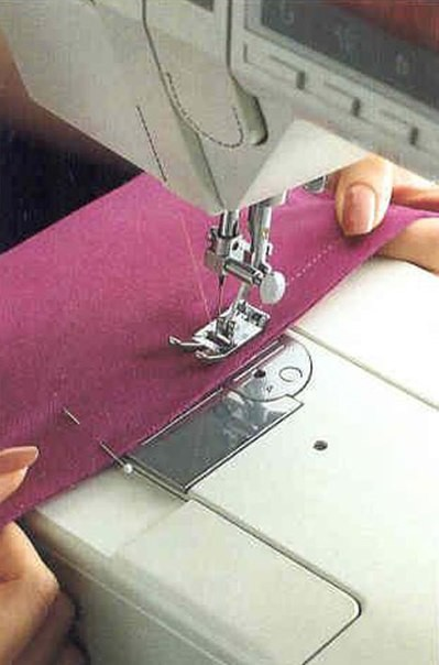 Трикотажные швы на обычной швейной машине (Шитье и крой)
