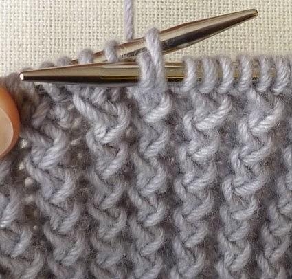 французская резинка вязание спицами журнал вдохновение рукодельницы