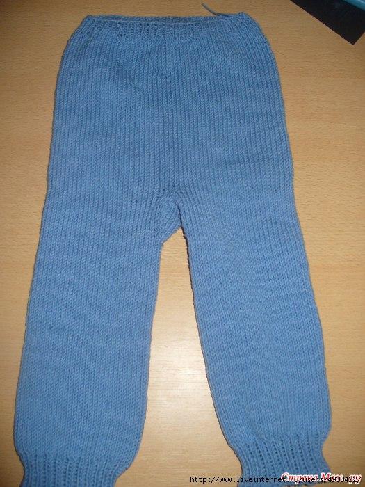 Вязание штанишек на спицах для начинающих 15
