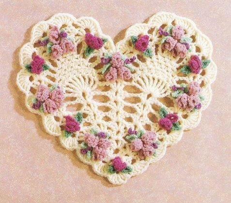 вязаные сердечки вязание крючком журнал вдохновение