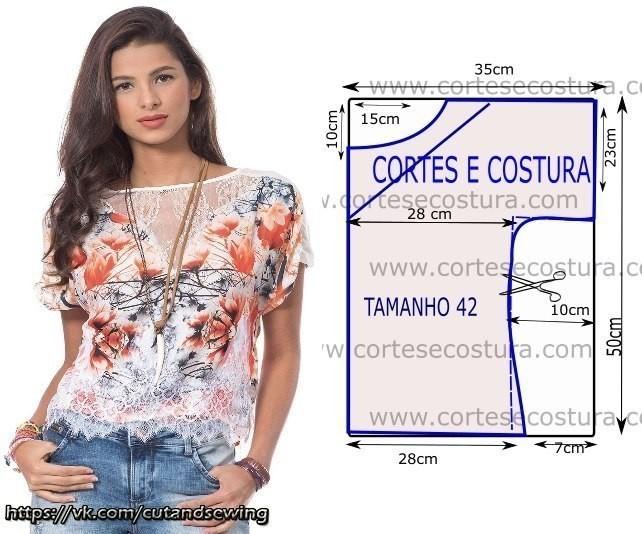 e42e0ab83f8 Выкройки летних блузок (Шитье и крой) – Журнал Вдохновение Рукодельницы