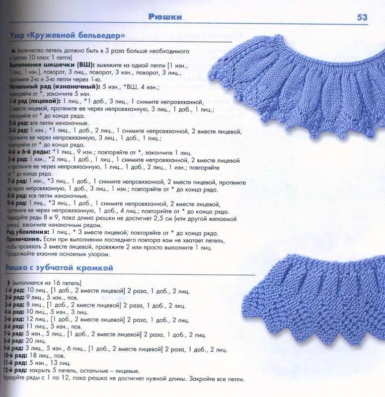 Вязание алсацийские гребешки схема фото 236