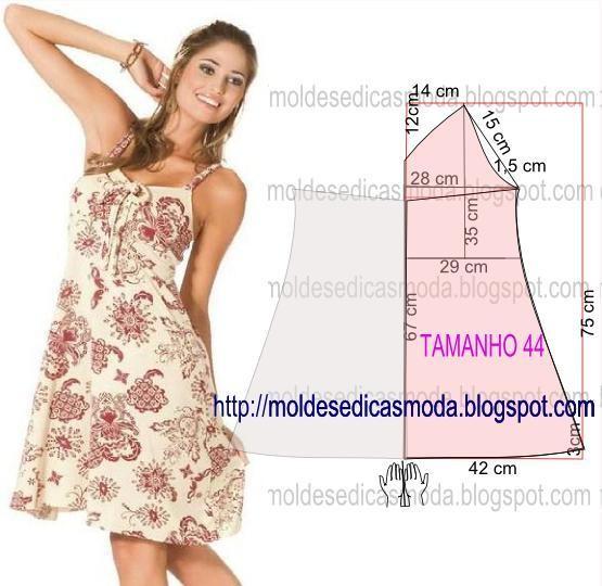 платья летнего шитье выкройки