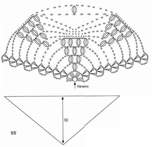 Ковер экстравагантный схема вязания фото 631