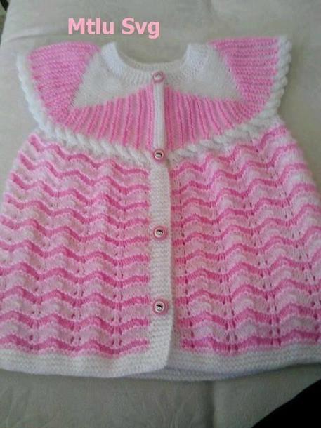 кокетка спицами для детских кофточек и платьев вязание спицами