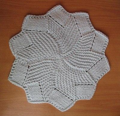 Ажурный двусторонний шарф спицами схема фото 758