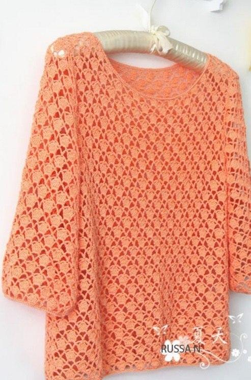 Вязание платья 35