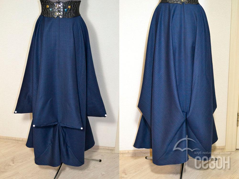 Непростая простая юбка БОХО (Шитье и крой)