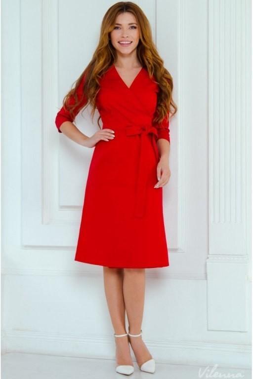 Выкройка стильного платья на-запах с поясом (Шитье и крой)