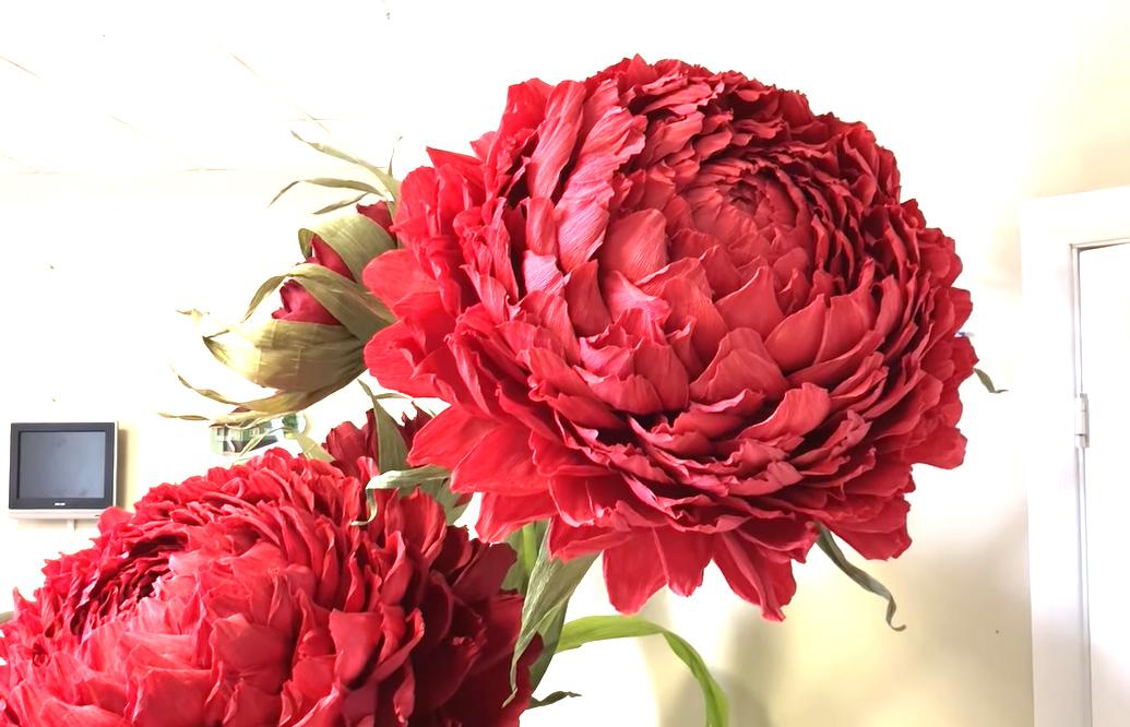 Пошаговая инструкция по сборке ростового цветка (Цветы из ткани)