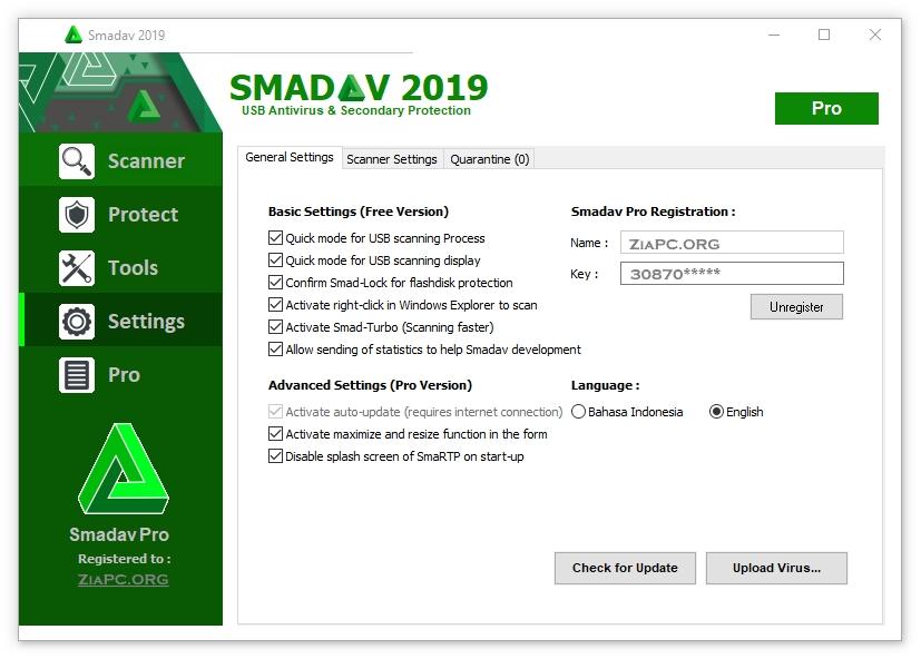 Smadav Key