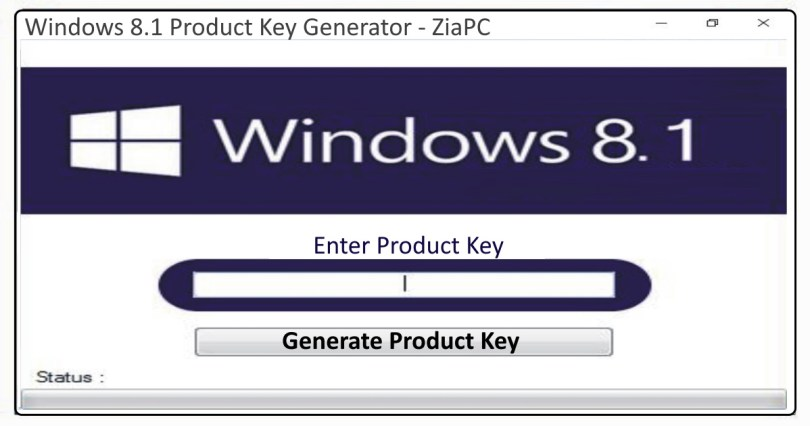 Windows 8.1 Product Key Generater