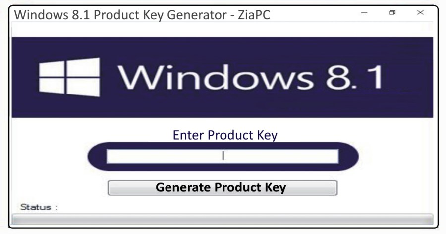 Windows 8.1 Product Key Generater