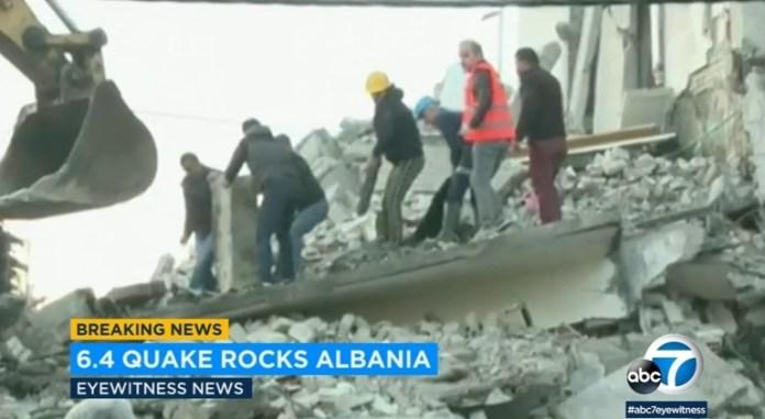 Cutremur Albania, 26 Noiembrie