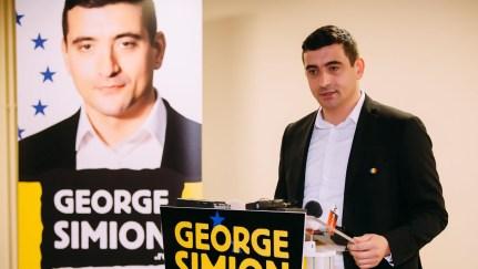 """George Simion - lider al mișcării politice """"România Mare în Europa"""""""