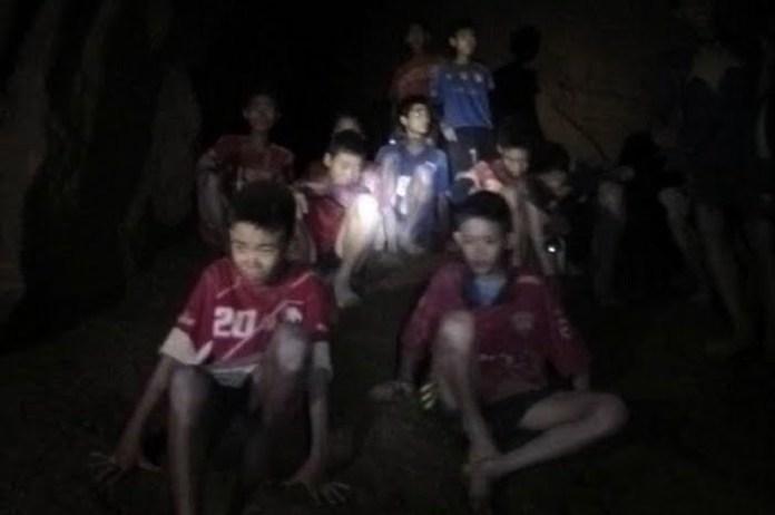 Copii Thailanda salvare