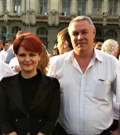 Lucian Lungu alături de Lia Olguța Vasilescu, în campania electorală