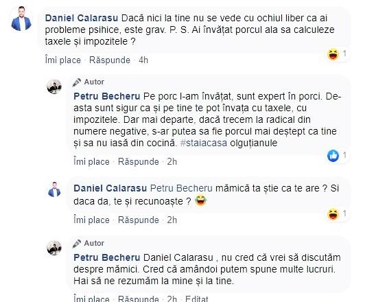 Comentariile jignitoare ale consilierului județean PSD Daniel Călărașu