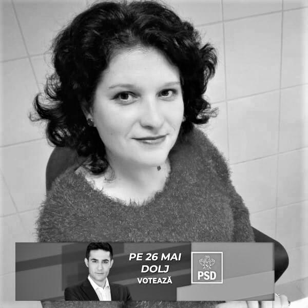 Pesedista Căldăruș Aurelia Rodica, Șefa Serviciu medical din Cămin. Sursa: Facebook