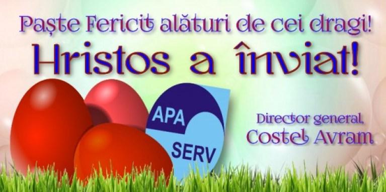 Mesaj de Paşte - Costel Avram